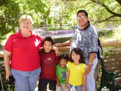 2006 with grand children