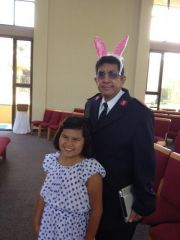 Youngest Granddaughter Easter 2014