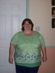 I had bought this shirt 2 months before my surgery. Was supposed to be my size, but never fit.