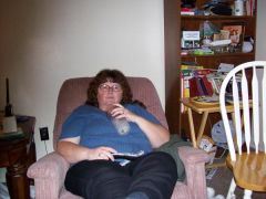 This is my profile picture, pre-surgery photo of me watching tv in my recliner. This is the Old Me.