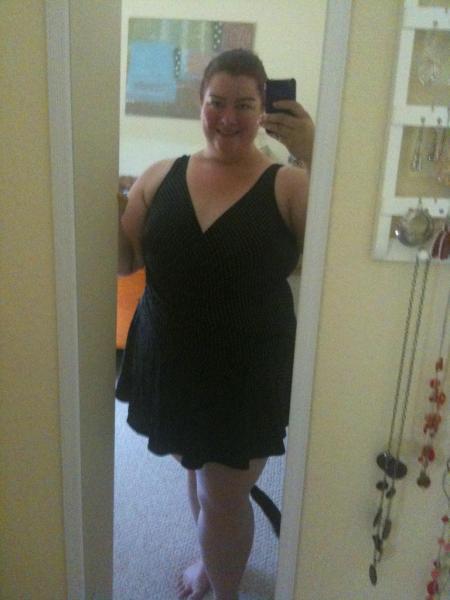 6 weeks post op - my smaller bathing suit fits again!