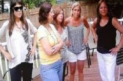7 25 2010-Mini reunion with school mates-I'm the tallest w/sunglasses