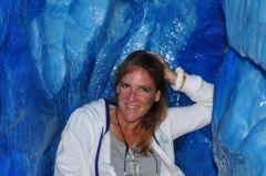 Carol in Ice Cave