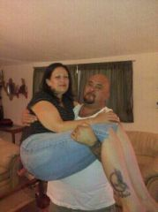 HUBBY CAN CARRY ME NOW
