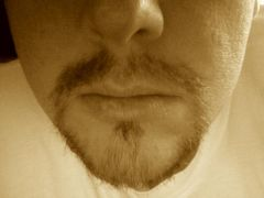 Manly beard x 1 month's growth. Bow before its awesomeness. Bow I say!