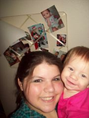 me and my littlest angel <3