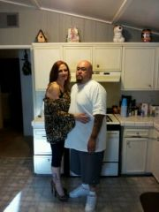 My hubby and I on my B-day 5/5/12