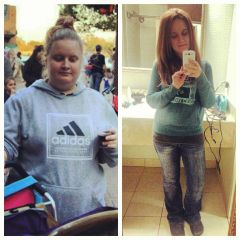 Before and After - 241 to 128