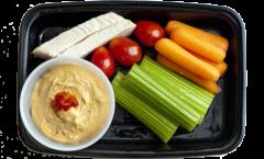 Healthy Hummus Bowl