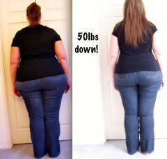50 Pounds down