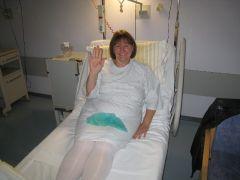 OCT 2011 Day of Surgery -204 lbs - Frankfurt, Germany