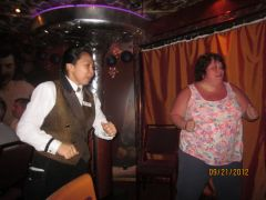 Dancing on the cruise September 2012
