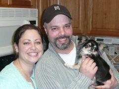 Mike, Brandi the Chihuahua and myself