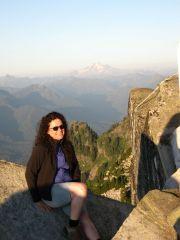 Hiking Mt Pilchuck Aug 2013