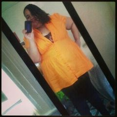 on my way to a baby shower