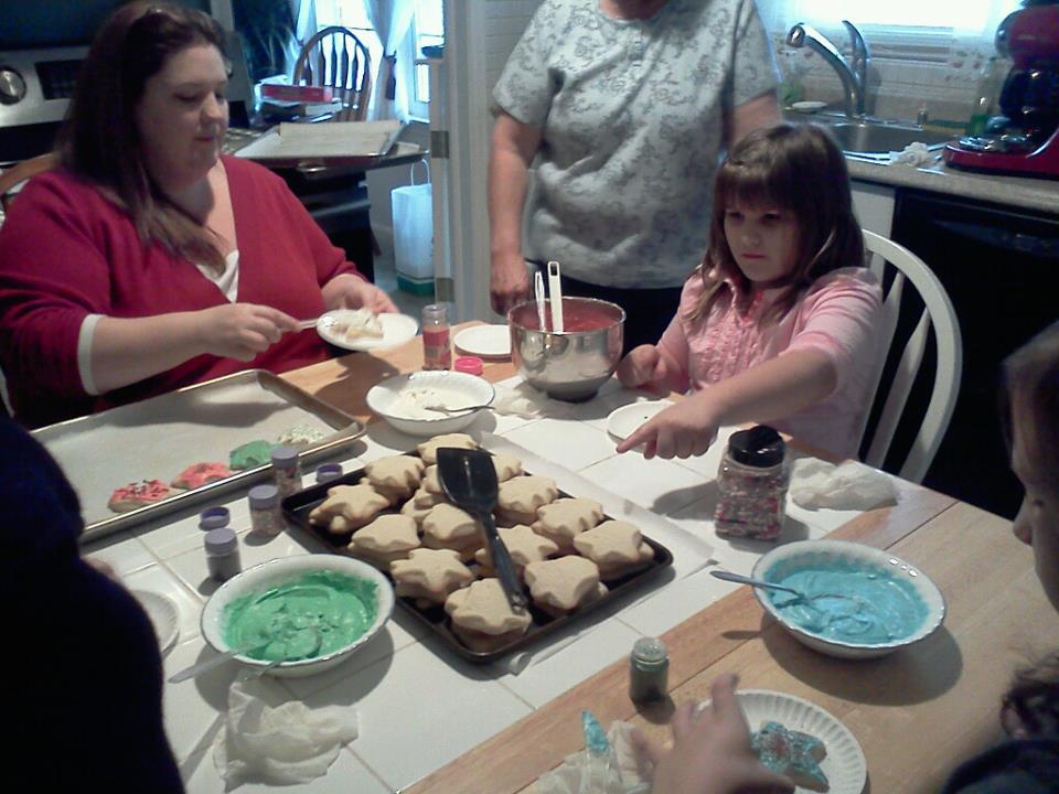 Christmas Cookies - 300 lbs (give or take)