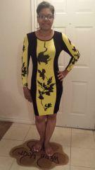 Me In Queen B dress