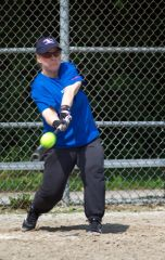 Softball - July 2013 - Back in the game after 25 years!