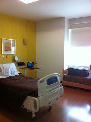 Clean spacious room at StarMedica Hospital