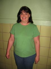 """This was taken at the beginning of a diet with Weight Watchers...it was supposed to be the before photo - but instead it is """"same"""" photo"""