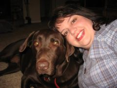 Dixie and me, about 3 weeks before LAP-BAND?? surgery