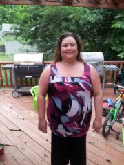 July 2013- Approx. 48lbs down since surgery