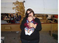 Before, my heaviest weight. 305lbs