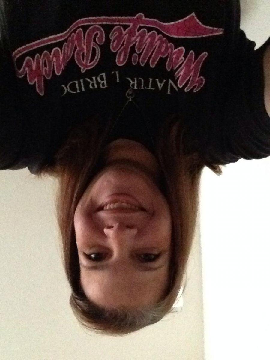 I'm upside down