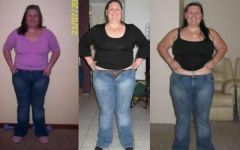My jeans from 2006 (first pic) finally fit me again!!! First goal achieved :) YAY!