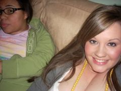 Again, I love how my clevage ends at my neck.... hmmm... lol, April 2008