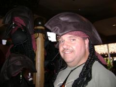 Being a Pirate at Magic kingdom