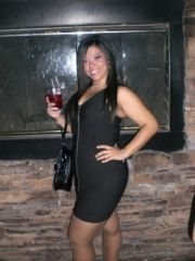 Something that I never thought would be possible...me in a short/tight/black dress :)
