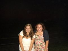 Me and my friend Kristyn in Newport, July 2008, down 35 pounds!!
