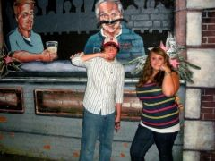 Me and my friend in Boston, down 40 ish pounds! August 2008 :)