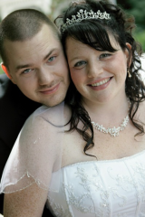 My hubby and I (if you couldn't tell :P )