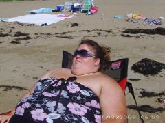 Never Again Will I let myself Look like a beached whale on the beach!
