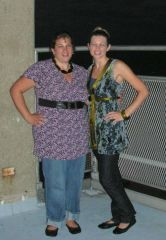 Me & SKINNY sister in Sept 2007 About 220