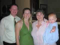 Me with sister & Brother in law with my youngest ~ Sept 2007 About 220