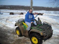 me playin in the mudd!