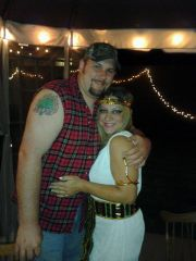 Me And bubba -  Halloween 2011_