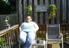 July 16th '08  Height 5'9 Weight 406 Shirt 5x Pant 30/32