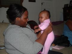 Me and baby Madison
