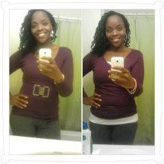 12/17/2012-10/17/2012  I haven't lost any weight but  I've really be toning!