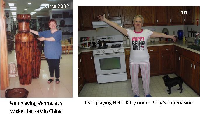 Jean as Vanna & Hello Kitty