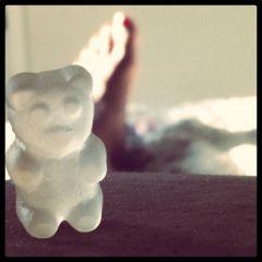 gummy bear meets belly