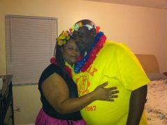 the cute chubby couple