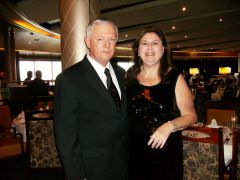 This is one of the lovely photos take on one of our cruises.  NO I ddint eat like a pig. No I didnt gain weight.