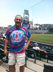 July 1, 2012 At a Rockies Game.