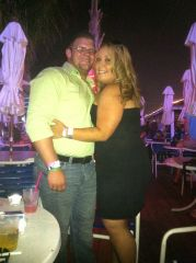 My boyfriend and I in Atlantic City last year on my Bday