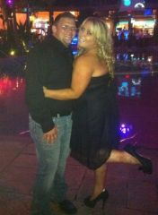 Boyfriend and I again in AC last year...